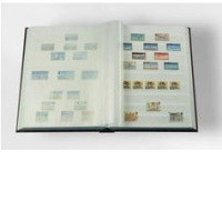 Zásobník na známky, bílé listy