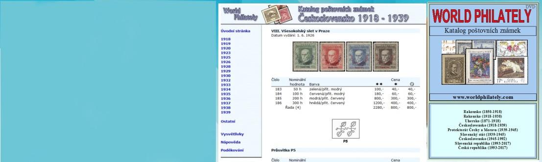 Filatelie ceník známek